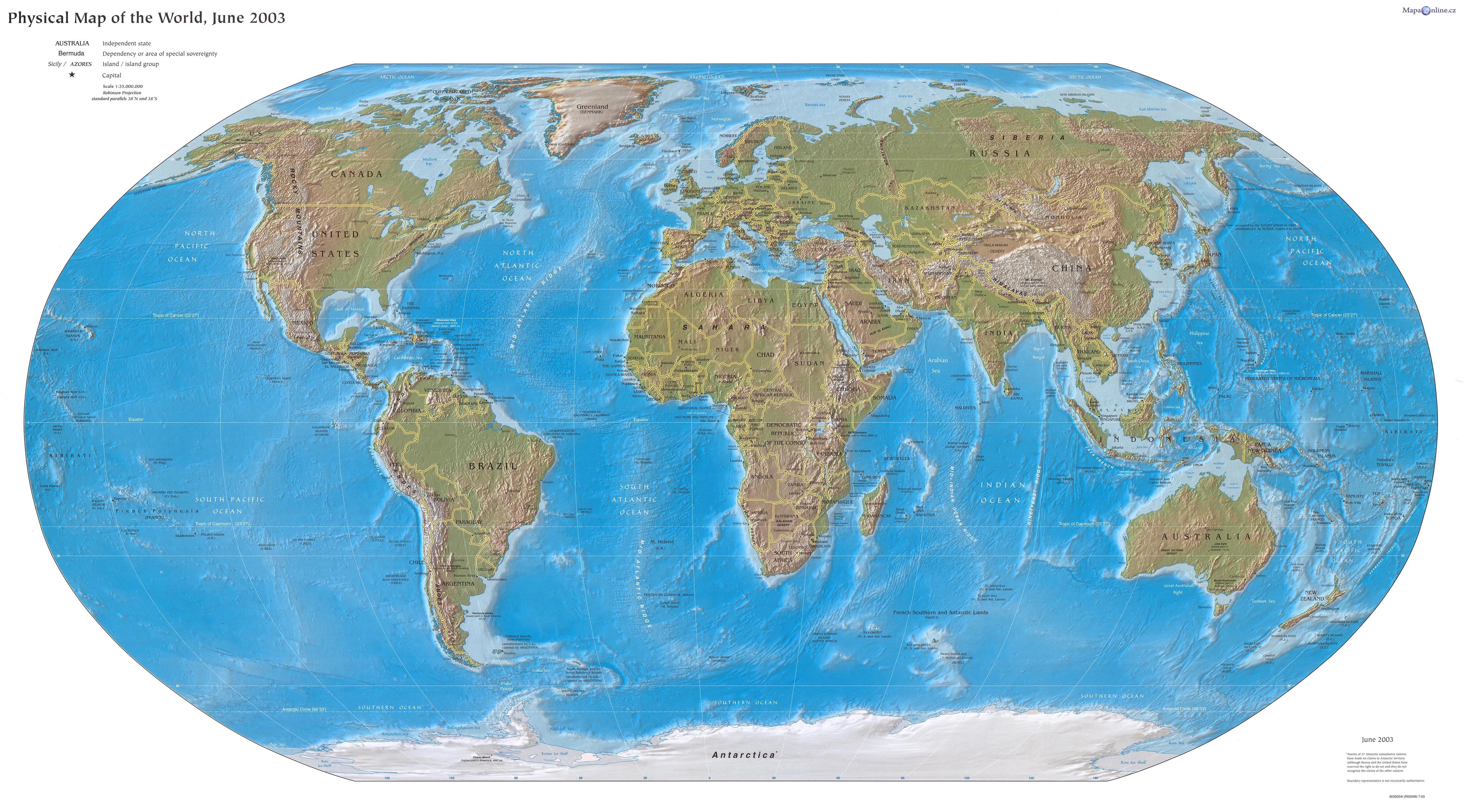 Zeměpisné rekordy - Svět