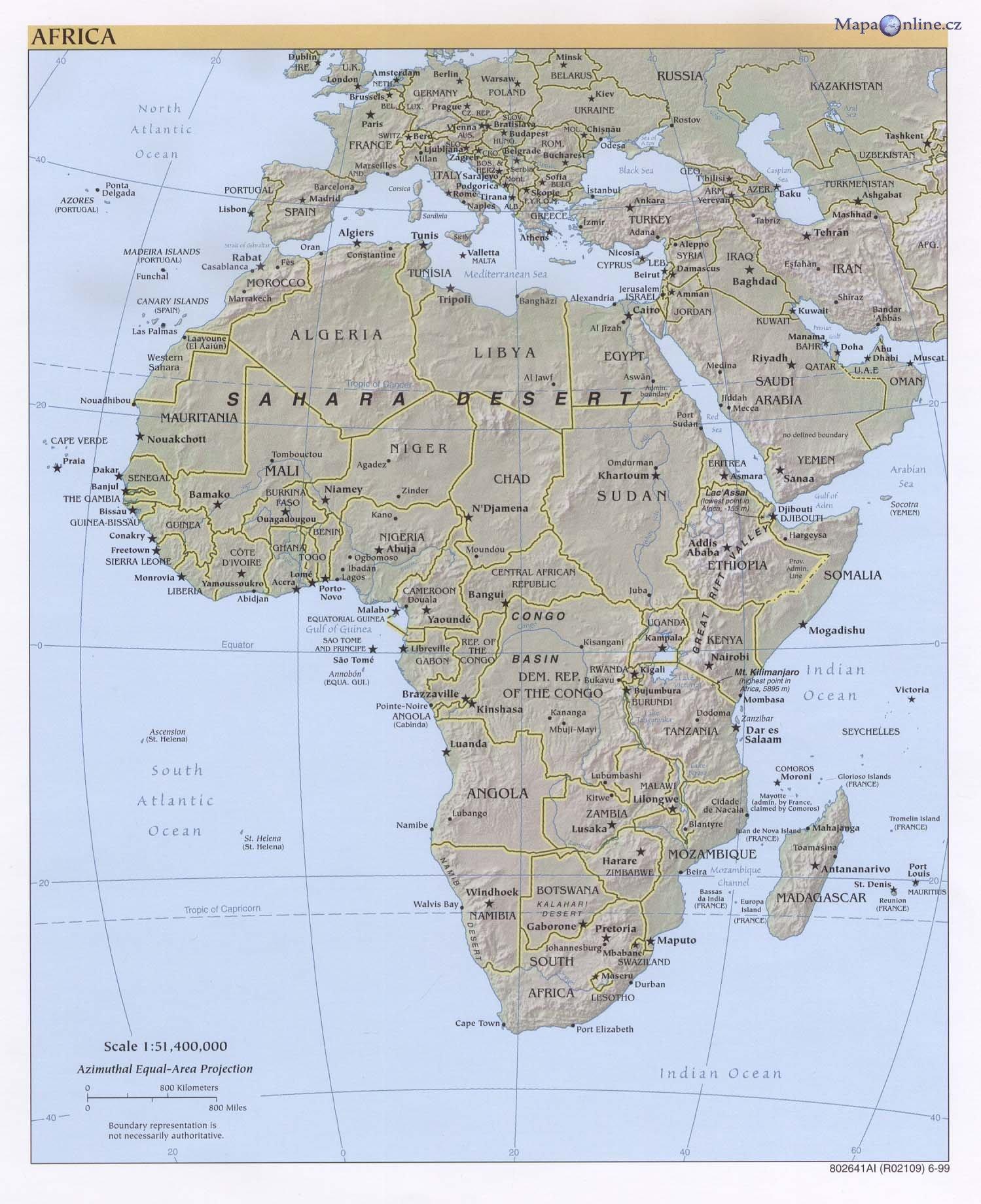 Mapa Podrobna Mapa Cr